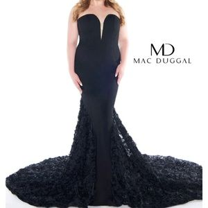 Black Mac Dugall Formal Gown
